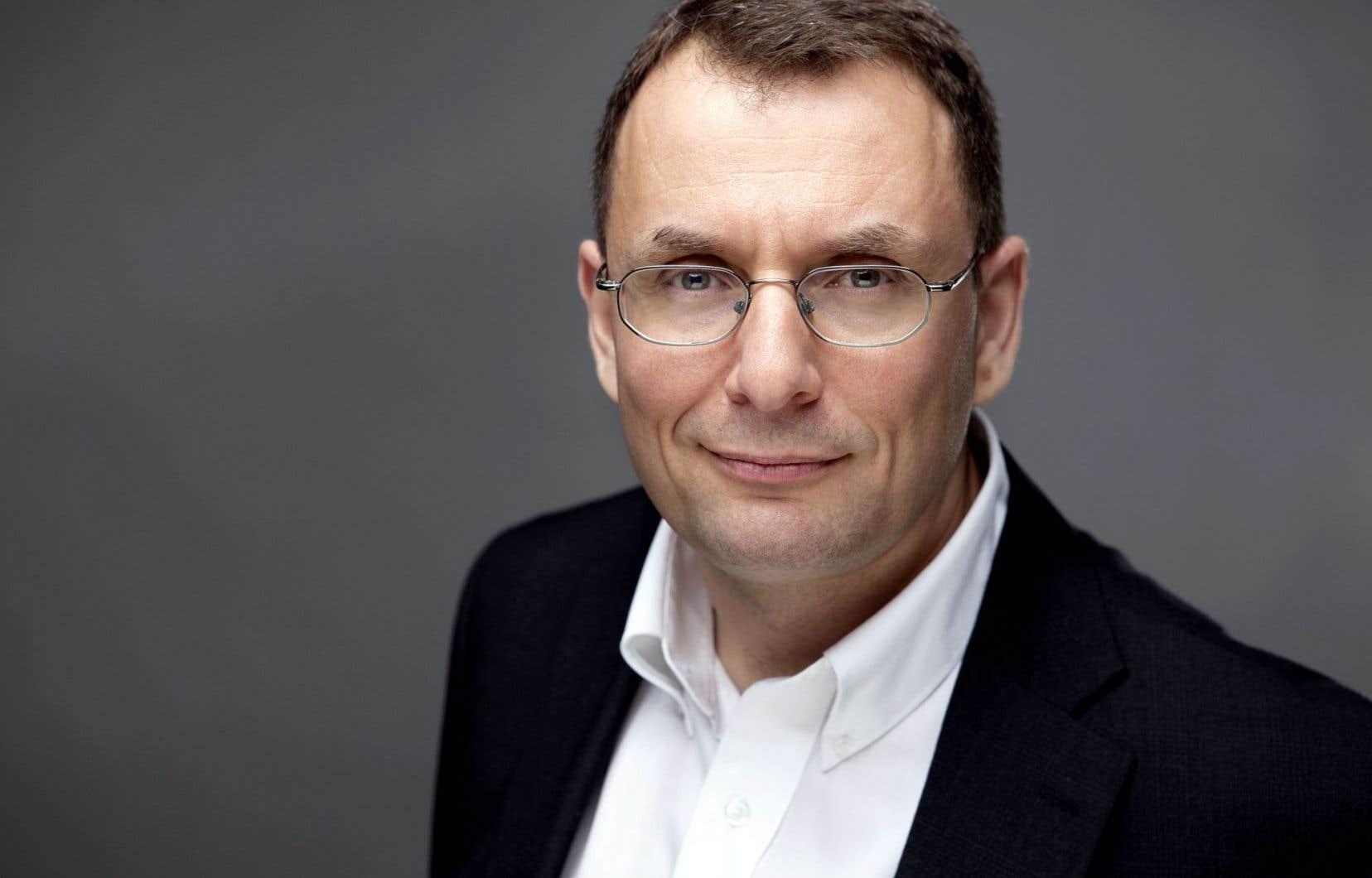 Antonello Callimaci, comptable de formation et vice-doyen aux études de l'ESG