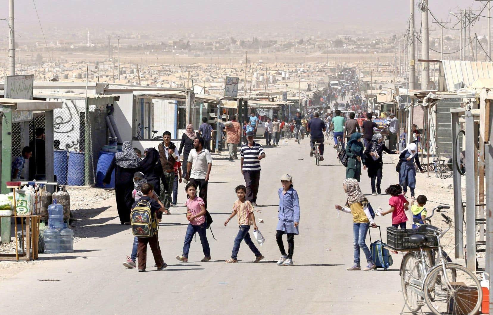 Selon le ministre McCallum, les réfugiés syriens qui prendront le chemin du Canada devraient venir des camps situés dans les trois pays de la région qui ont été les plus touchés par le plus important exode depuis la Seconde Guerre mondiale, soit la Turquie, la Jordanie (notre photo) et le Liban.