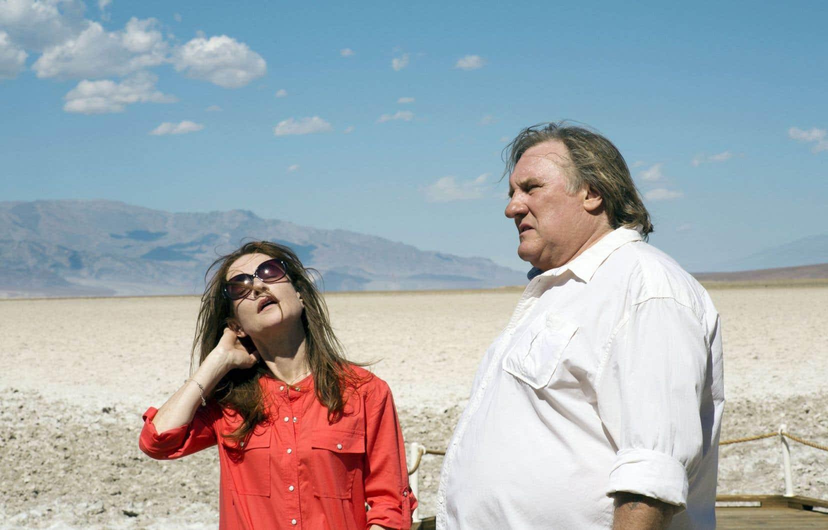 Isabelle Huppert et Gérard Depardieu sont réunis au cinéma 35ans après «Loulou» de Maurice Pialat.