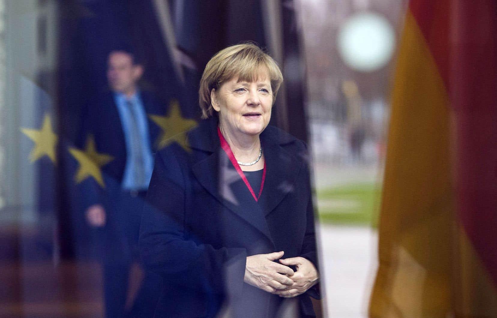 Pour le moment, la position d'Angela Merkel ne semble pas menacée.