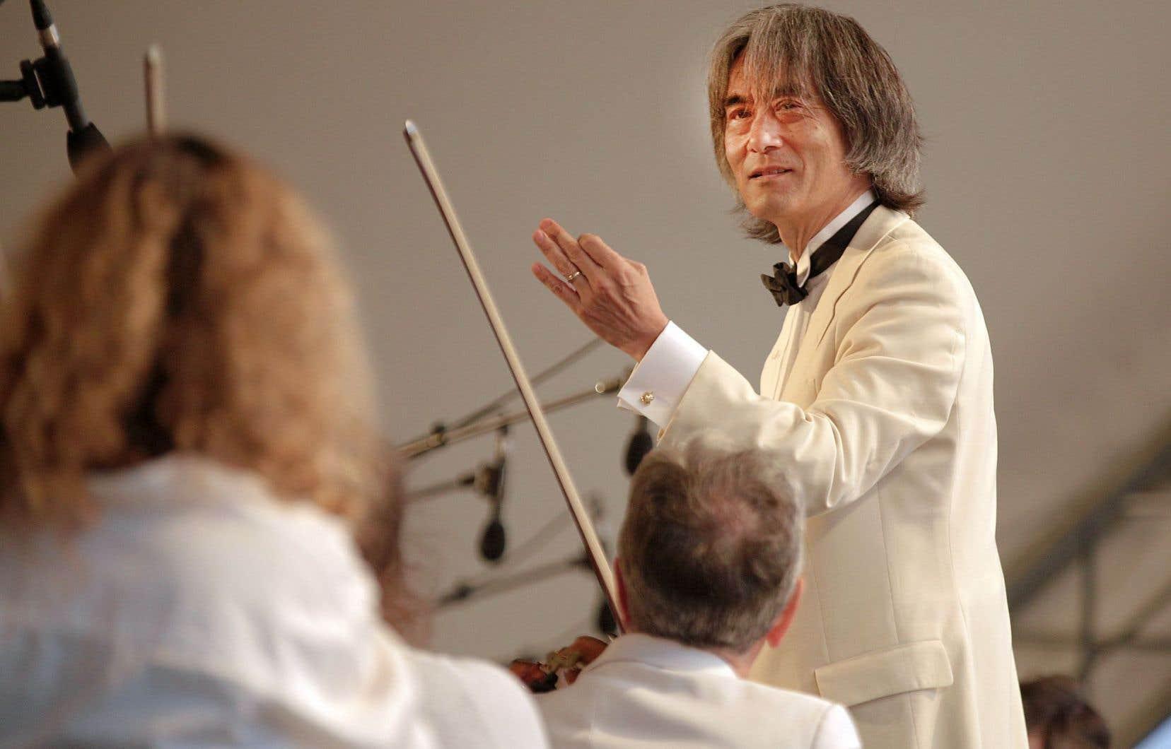 Le chef de l'OSM, Kent Nagano
