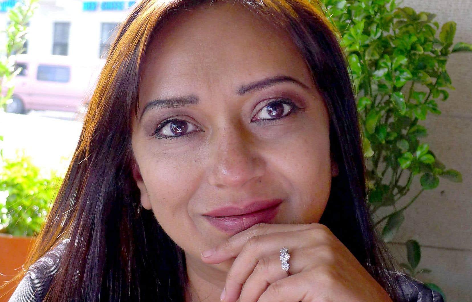 La journaliste turque Amberin Zaman était de passage à Montréal lundi pour participer à un colloque sur la liberté de la presse.