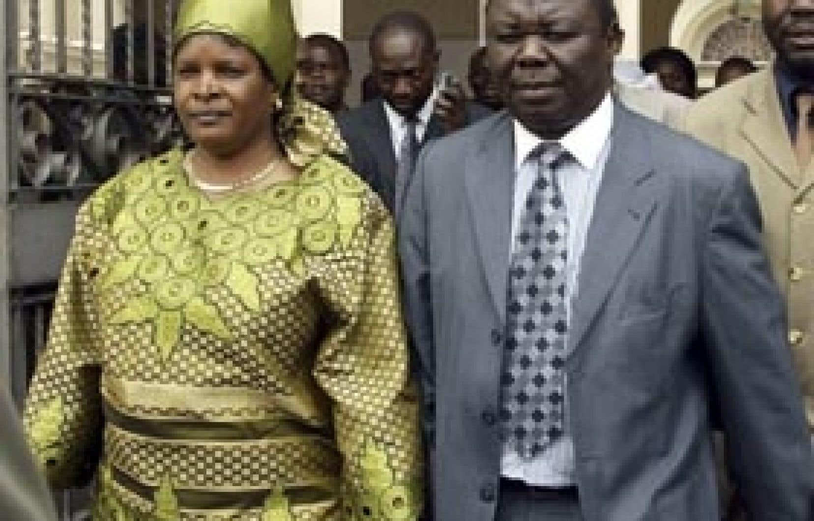 Susan Tsvangirai, le femme du premier ministre, a été tuée.