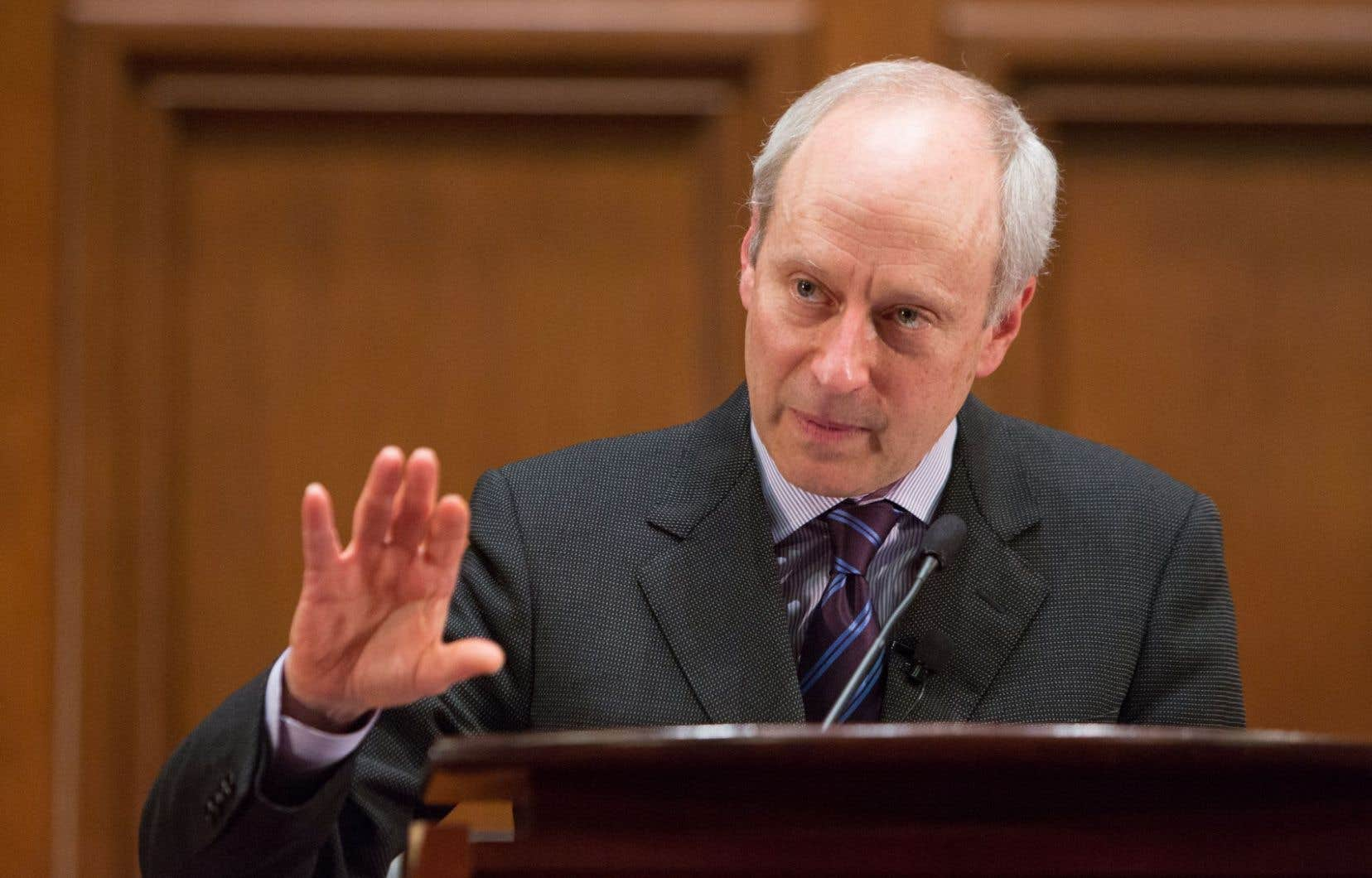 Le professeur à l'Université Harvard Michael Sandel