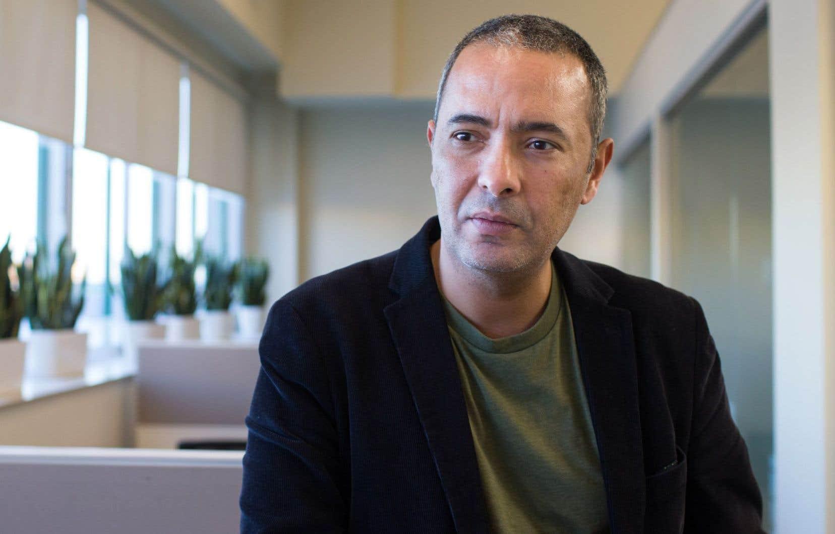 L'écrivain et journaliste algérien Kamel Daoud