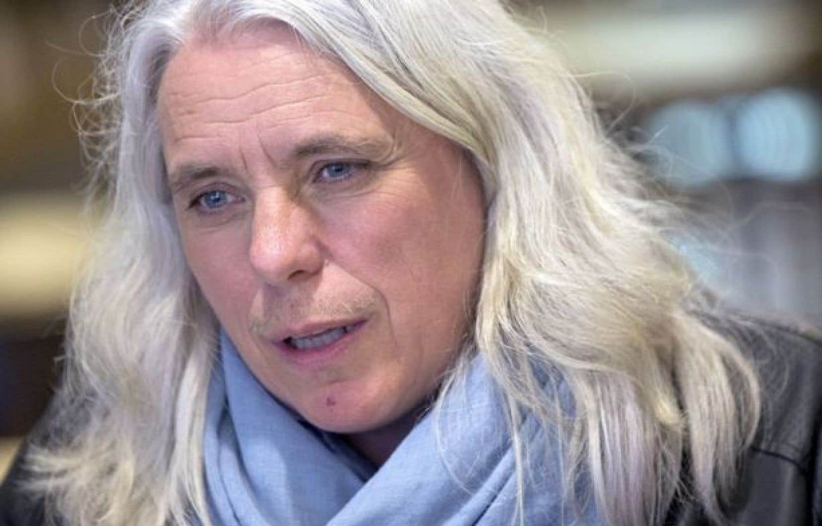 La députée de Québec solidaire, Manon Massé
