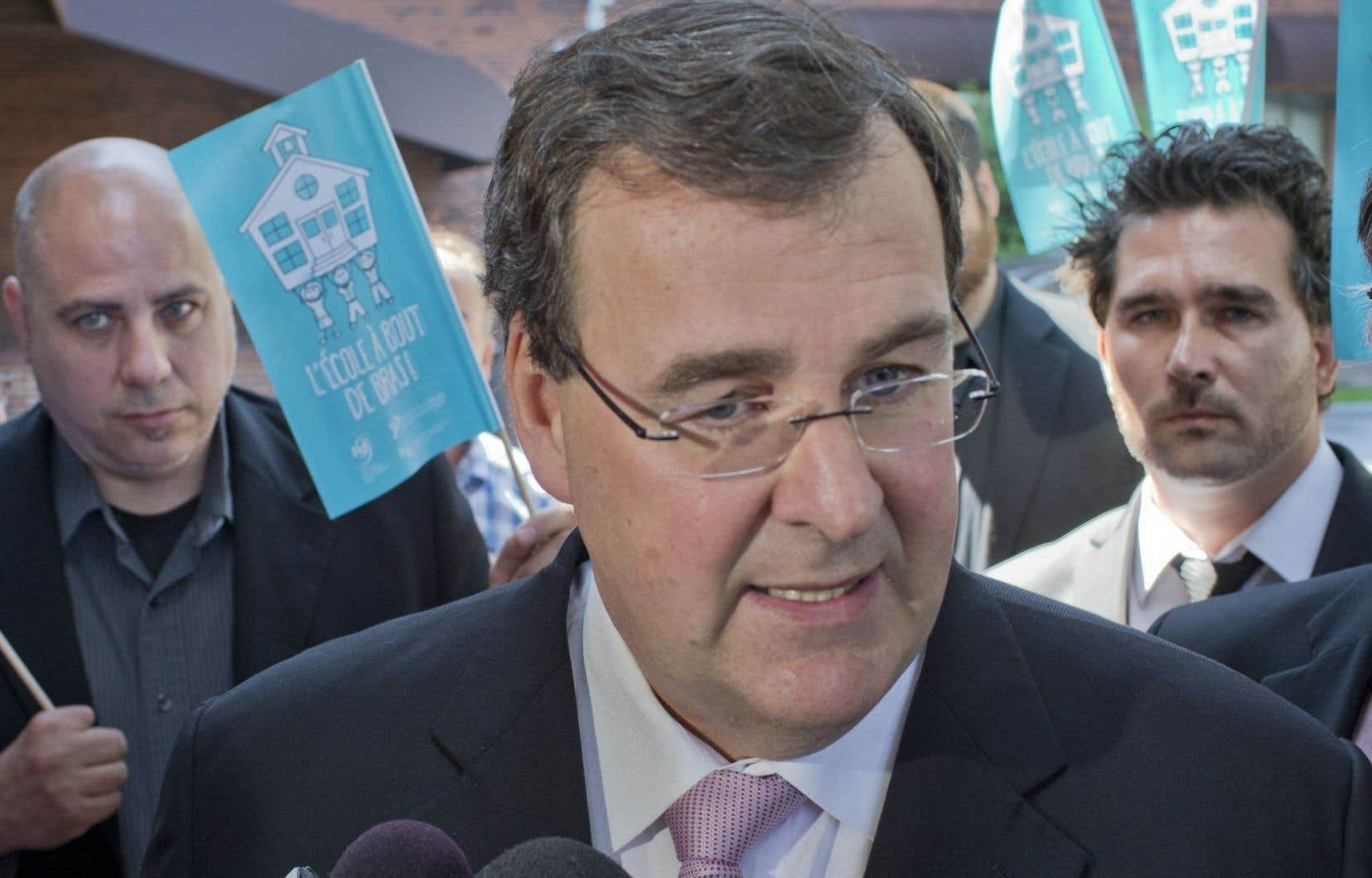 Le ministre de l'Éducation, François Blais, le 30 mai dernier
