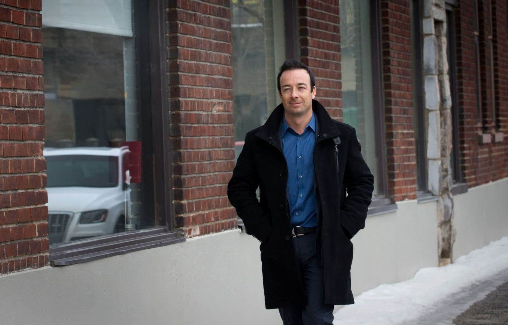 Luc Poirier est cet homme d'affaire qui, en 2007, avait acheté pour 6 millions un terrain sur l'île Charron afin d'y construire des condos.