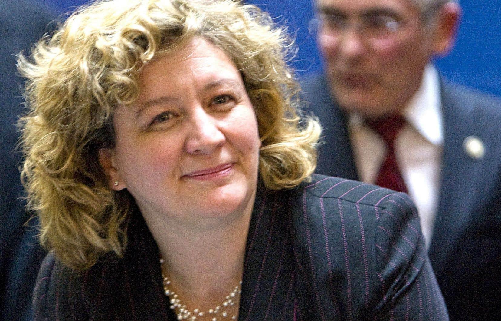Andrée-Lise Méthot, fondatrice et associée directrice de Cycle Capital Management, un fonds d'investissement dans le secteur des technologies propres.