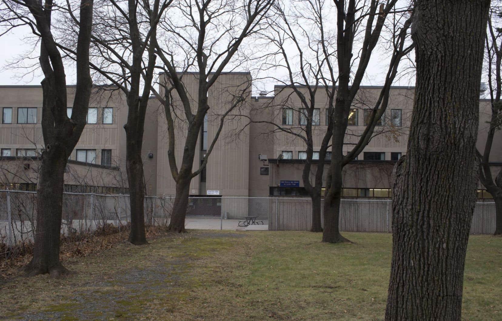 L'école secondaire Lucien-Pagé est occupée à 58 % seulement et présente donc de l'espace disponible.