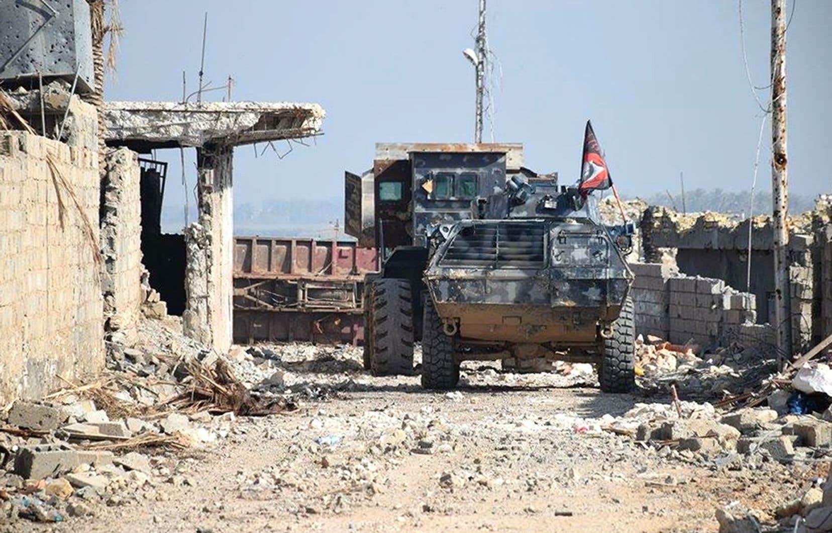 C'est toute la région qui s'embrase à cause du groupe État islamique. Après l'Irak (photo ci-haut) et la Syrie, la Libye inquiète maintenant.