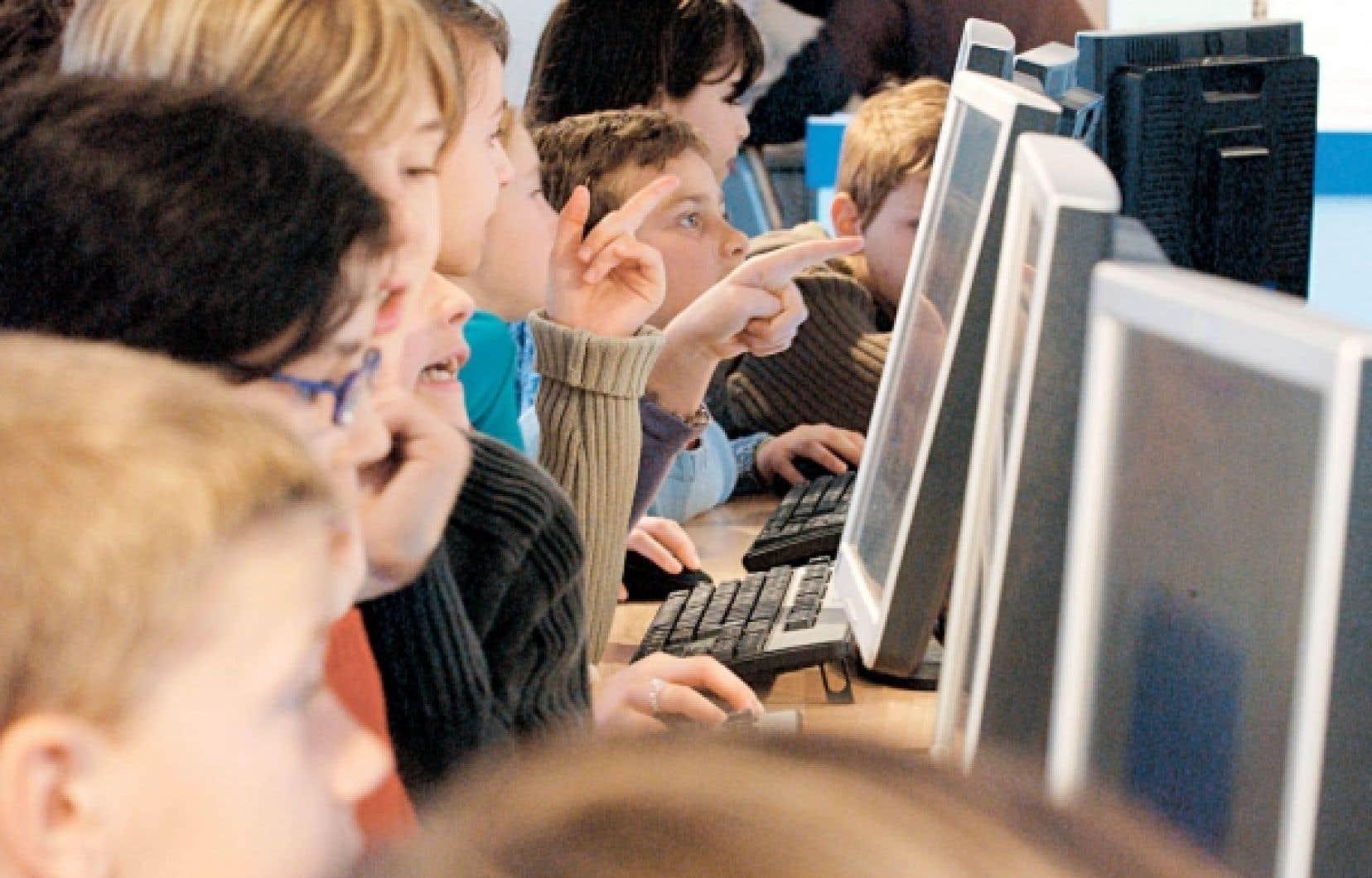 Les jeunes de la «génération C» baignent dans l'univers d'Internet.