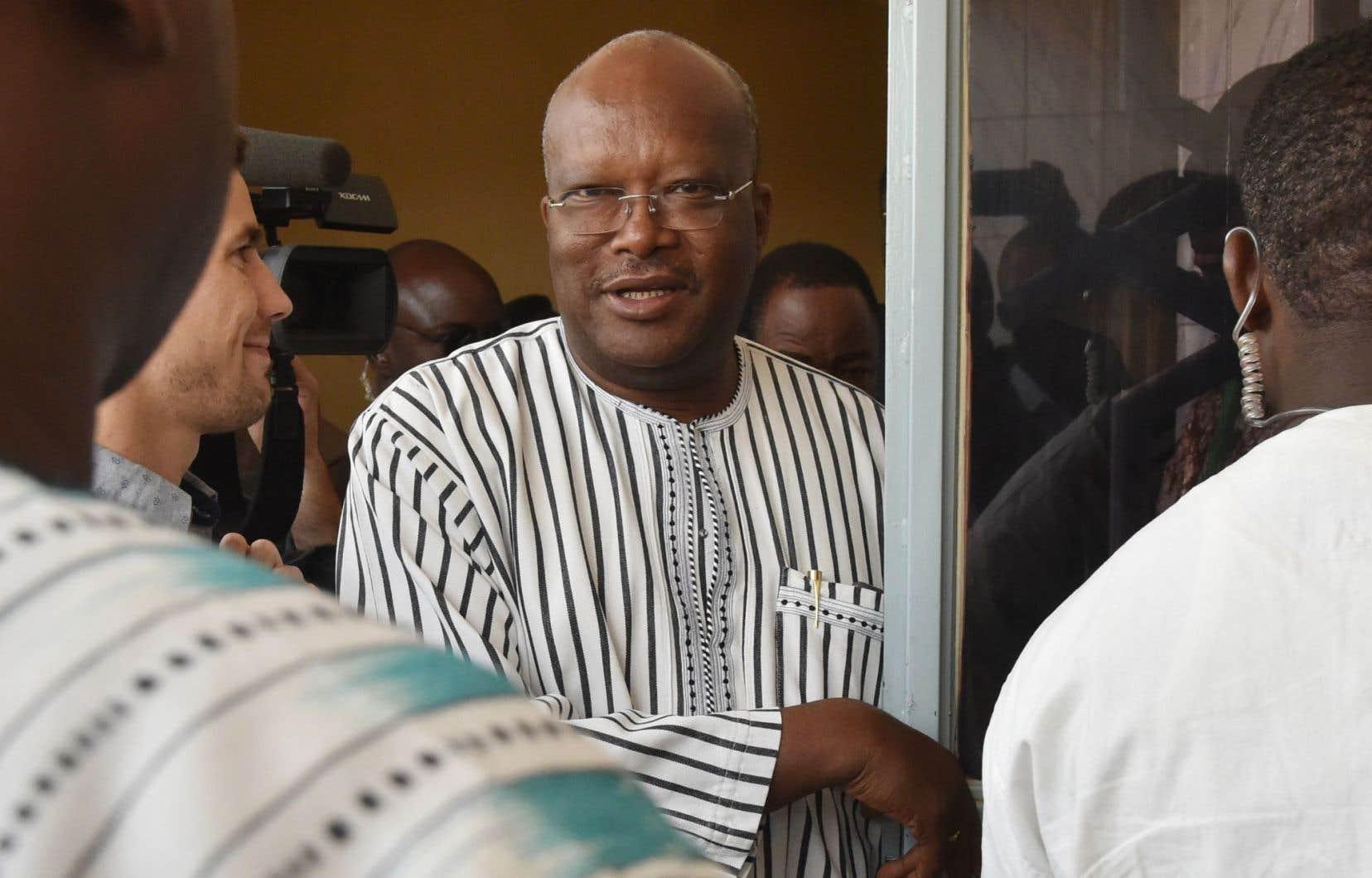 Le président élu, Roch Marc Christian Kaboré