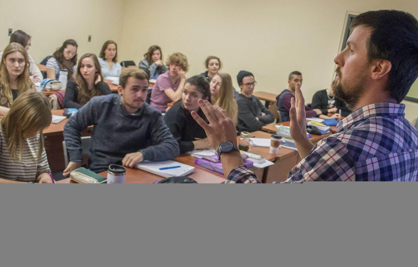 L'Alliance des professeures et des professeurs de cégep représente l'ensemble du corps enseignant au collégial.