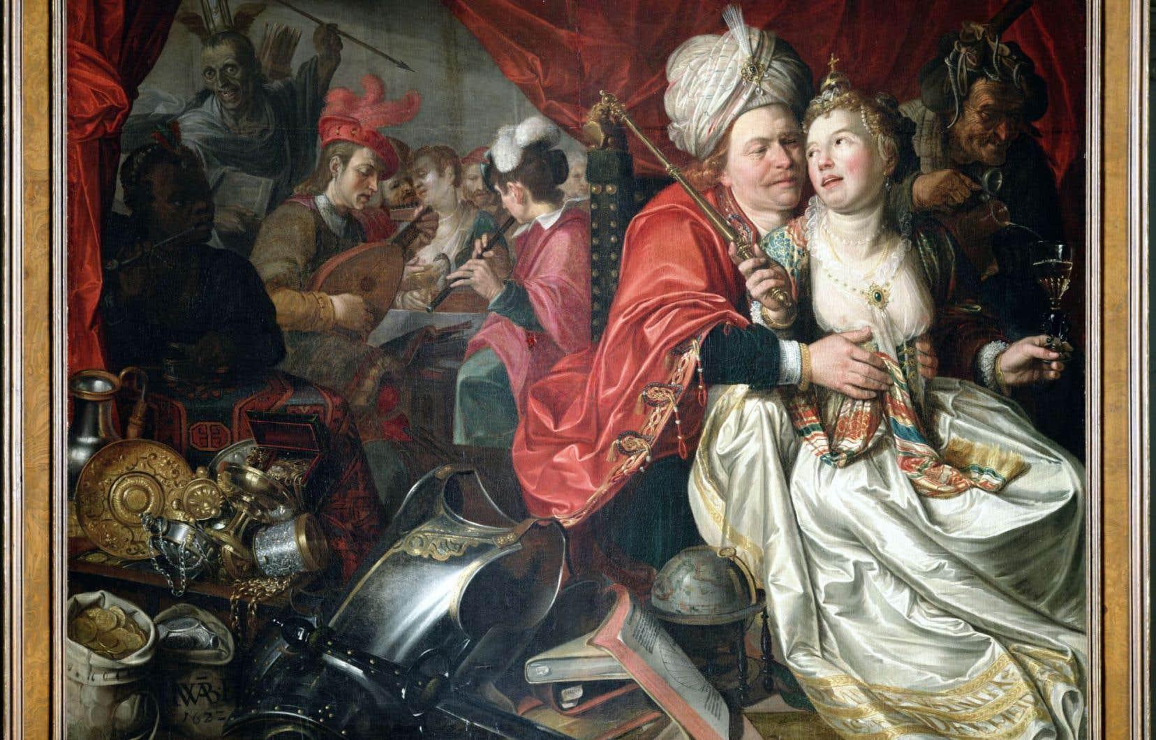«Vrouw Wereld» de Jacob Waben,l'une des douze toiles volées