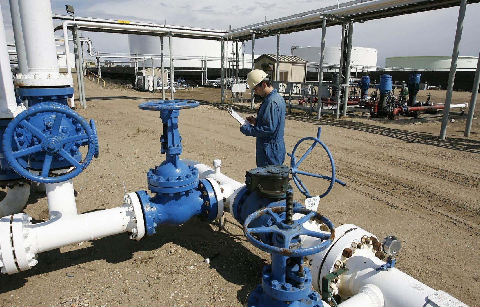 Des installations de Husky Energy en Alberta