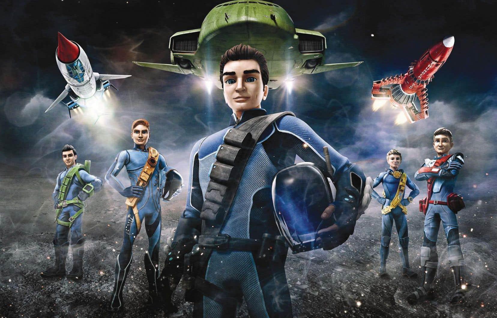 La nouvelle version des «Sentinelles de l'air», en animation 3D et prise de vue réelle, offre une qualité visuelle fort réussie.