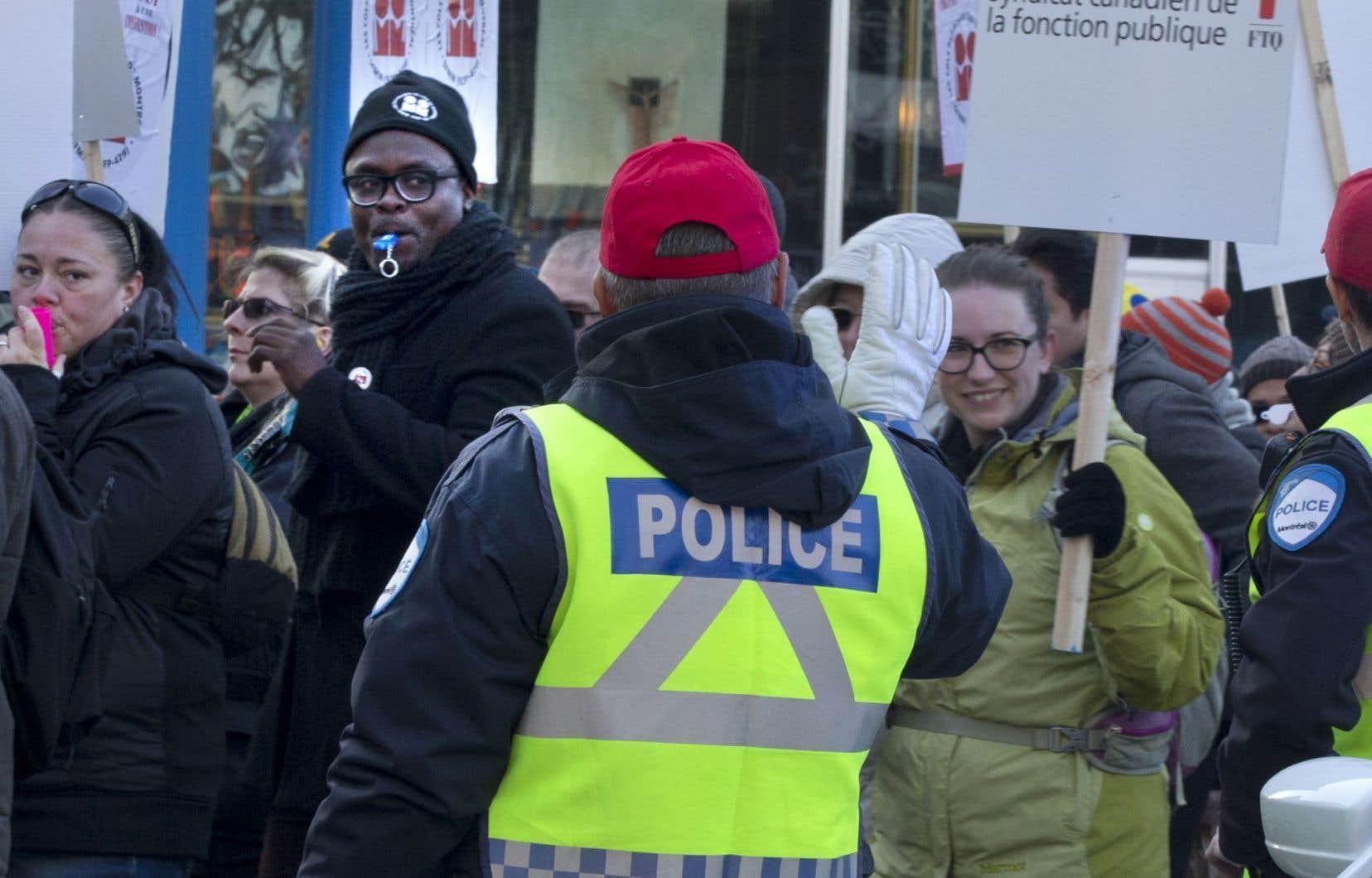 La manifestation s'est déroulée dans l'ordre.