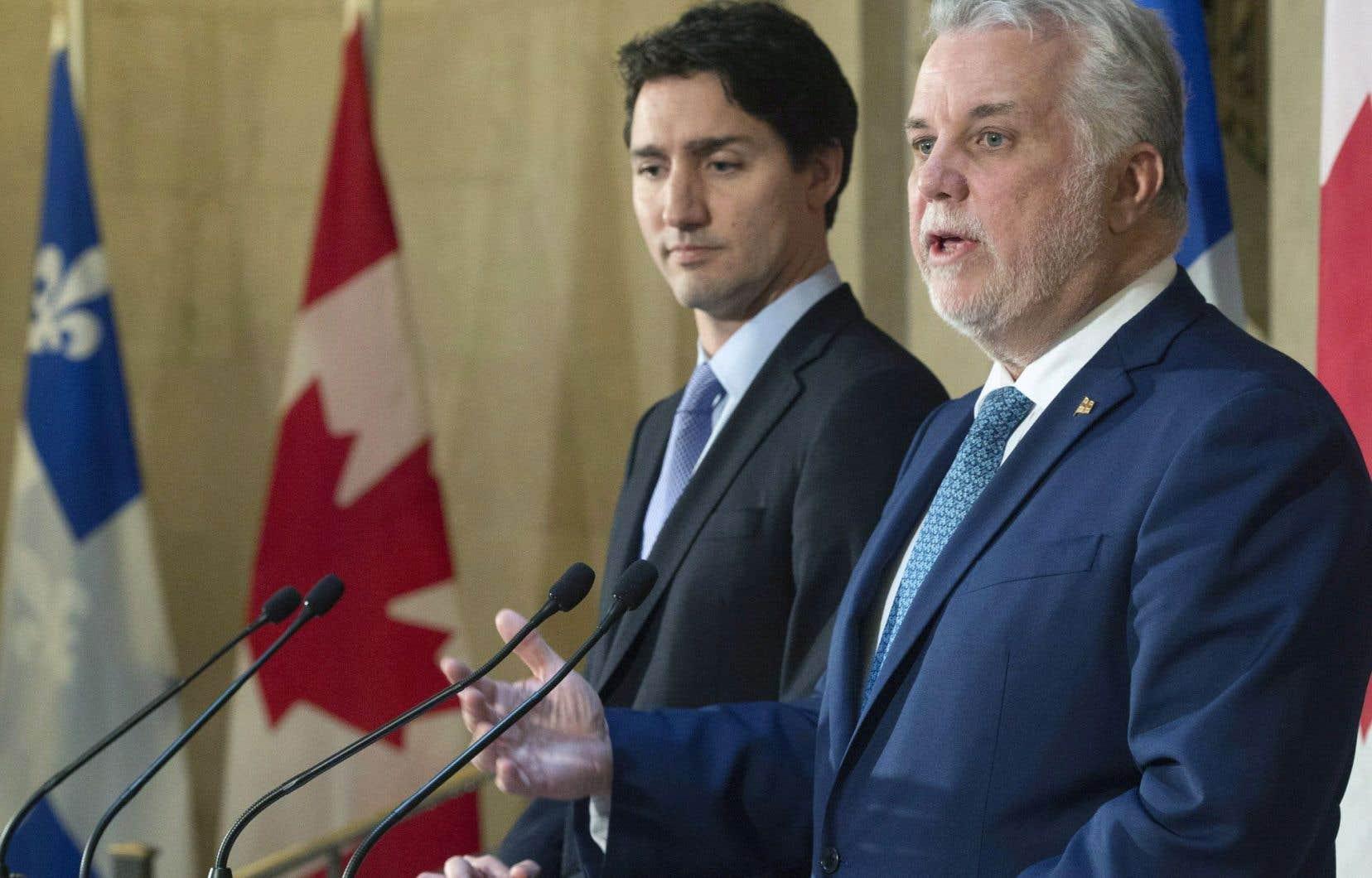 Les deux premiers ministres ont longuement vanté la «nouvelle ère» de collaboration entre leurs gouvernements respectifs, vendredi, au terme de leur rencontre.
