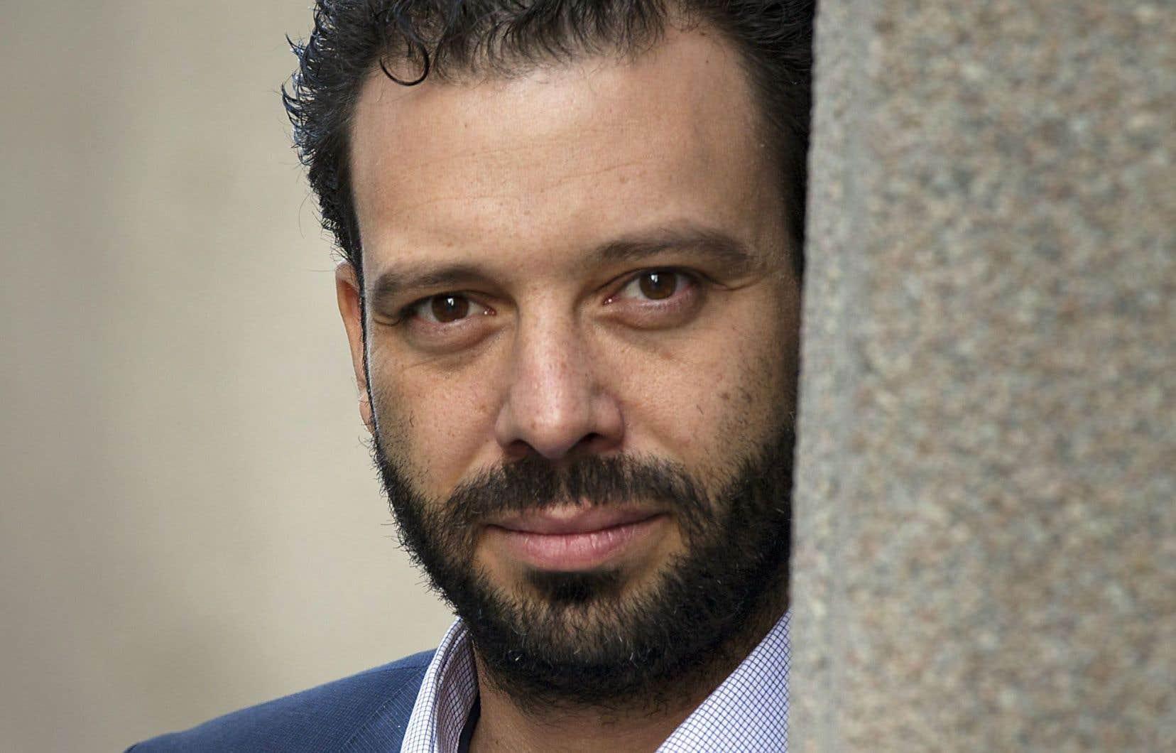 Haroun Bouazzi a notamment fondé l'Association des musulmans et des Arabes pour la laïcité au Québec.