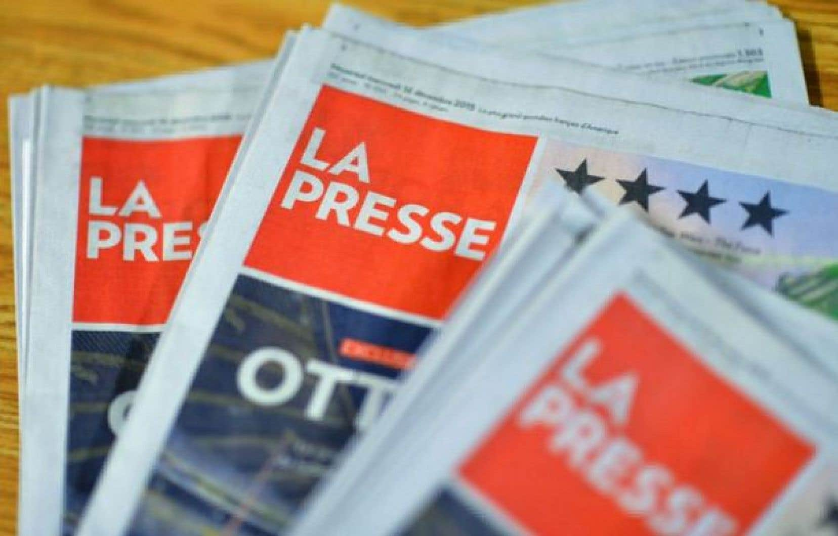Une édition papier de La Presse continuera à être publiée tous les samedis.<br />
