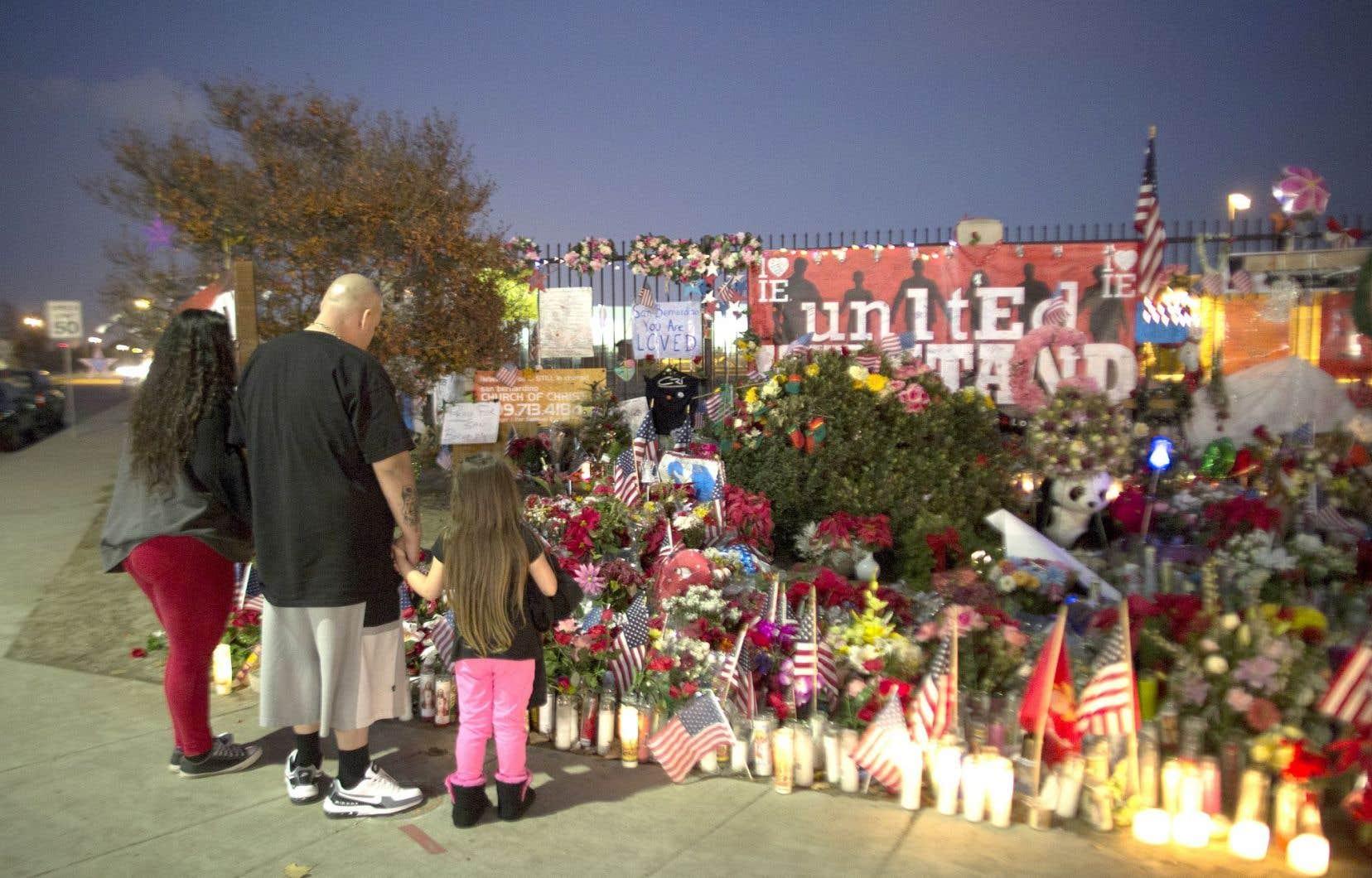 L'attaque du centre social de San Bernardino, en Californie, a été la tuerie en sol américain ayant fait le plus de morts en 2015.