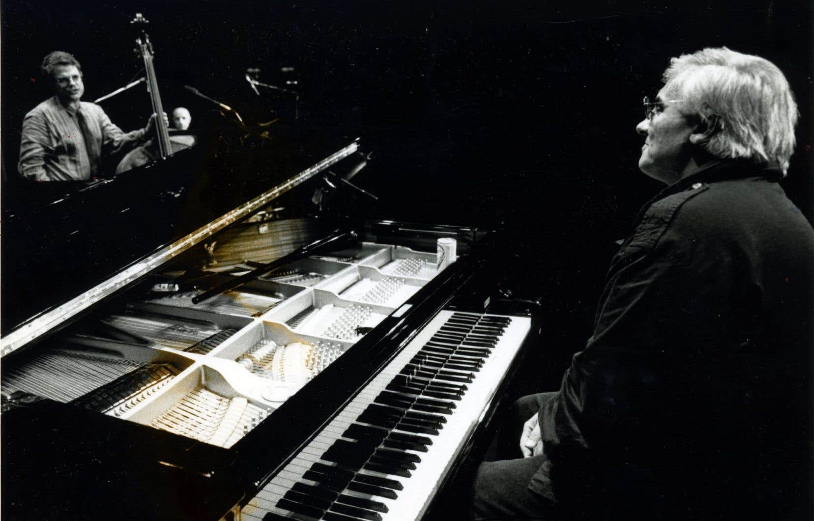 Paul Bley au piano en 1994