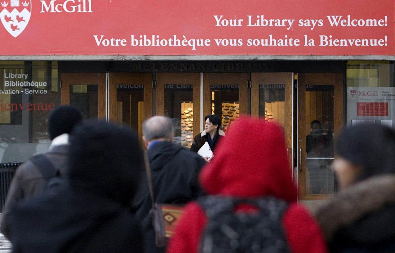 Si les effectifs des institutions universitaires anglophones étaient de 11 % comme au primaire/secondaire, c'est plus d'un milliard de dollars par année qui iraient aux institutions universitaires francophones.