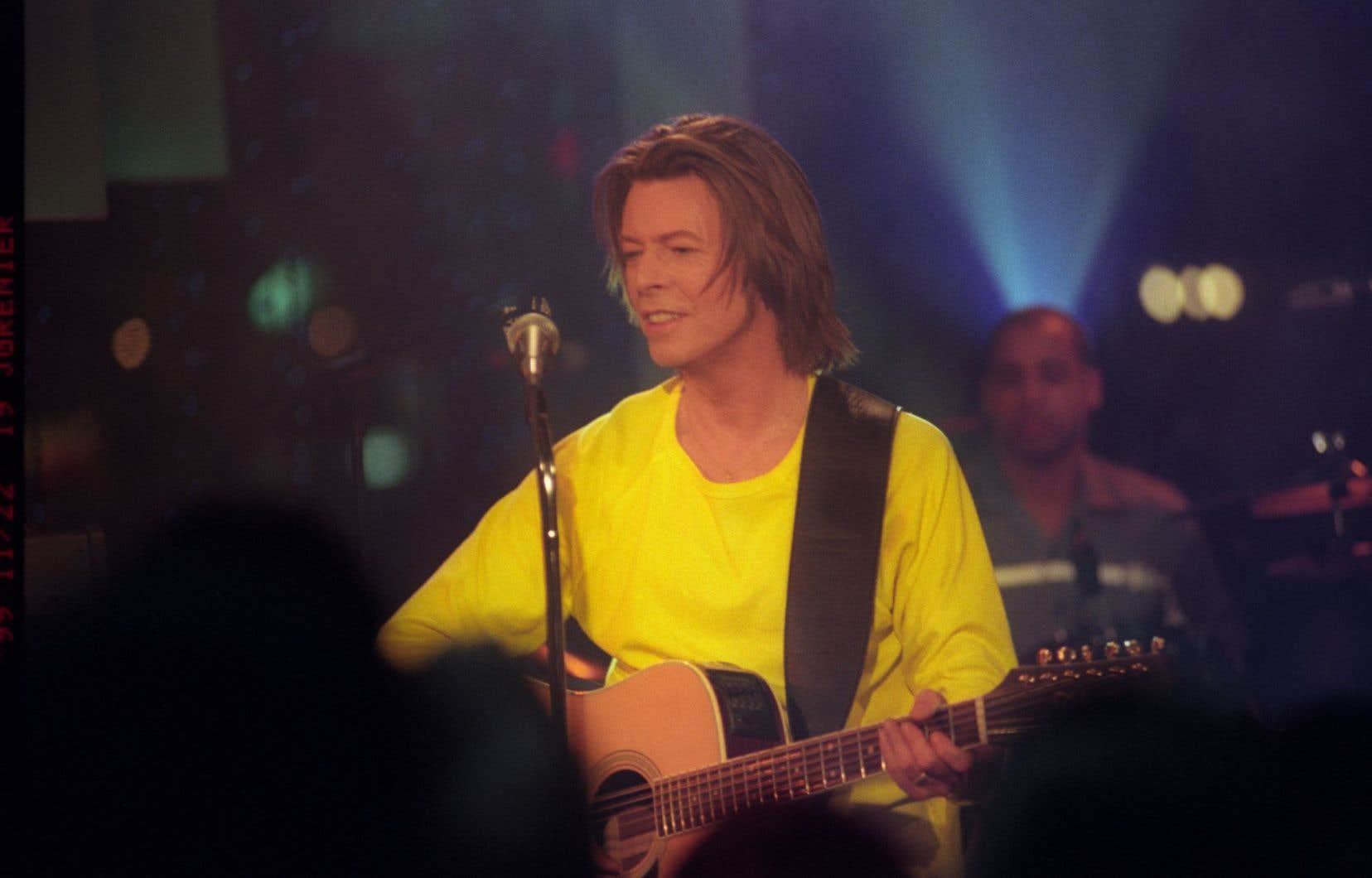 David Bowie de passage à Montréal en septembre 1997