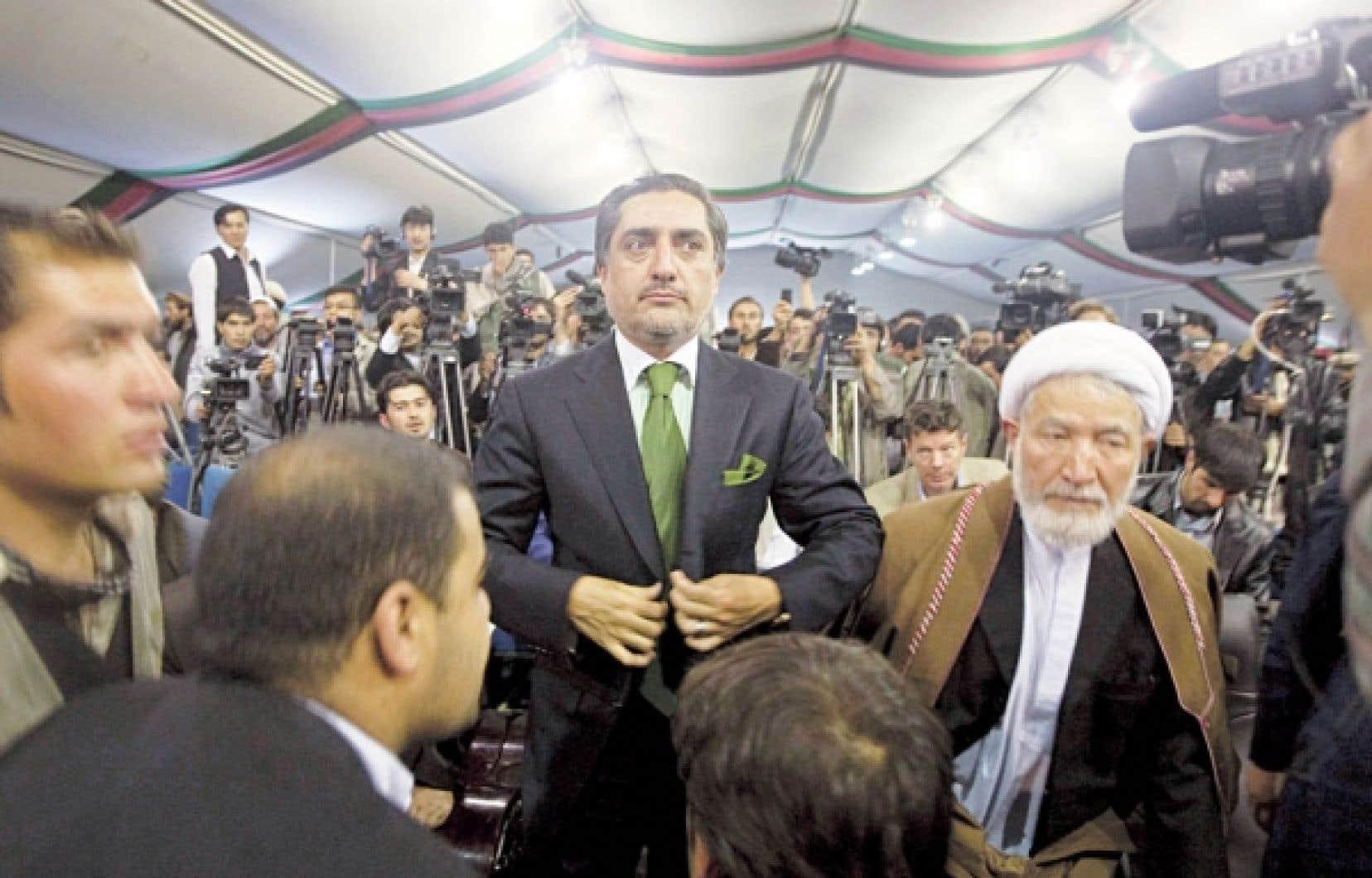 Le candidat Abdullah Abdullah s'est retiré hier du 2e tour de la présidentielle