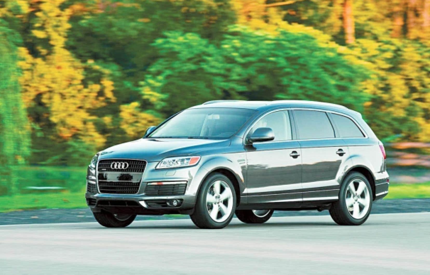 Le Q7 d'Audi en impose: il a l'air costaud, viril, et c'est exactement ce que veut la clientèle cible.