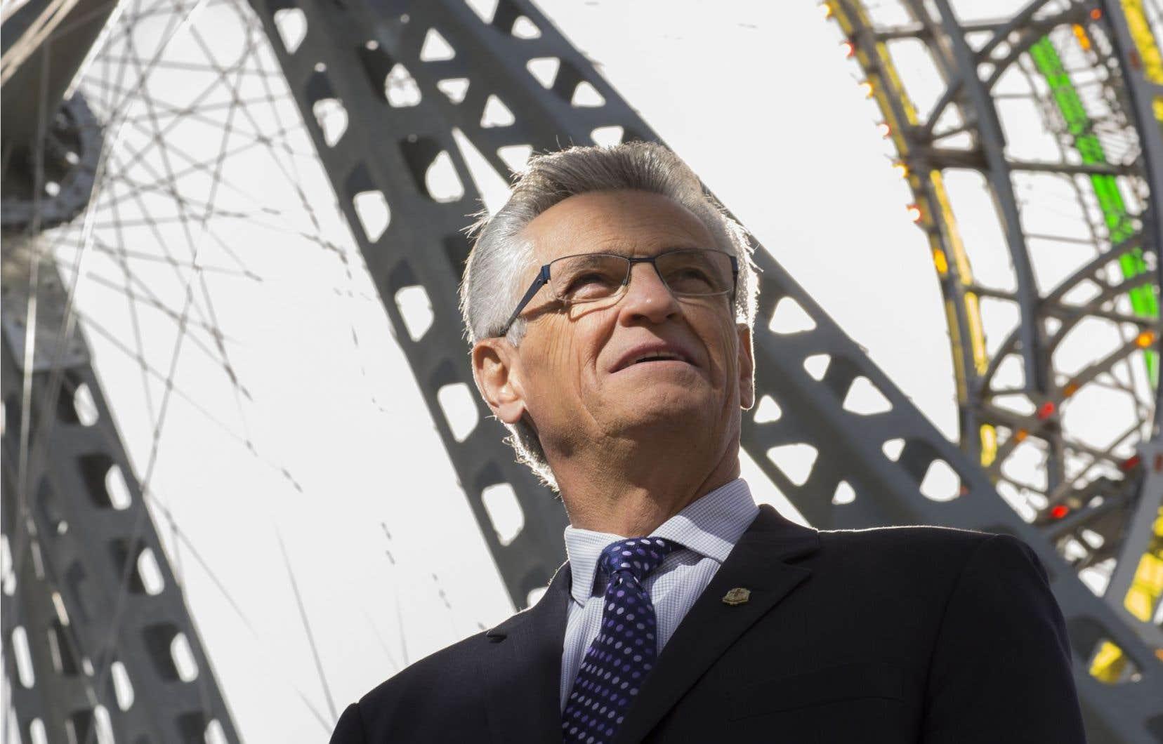 L'ancien maire de Montréal-Nord Gilles Deguire