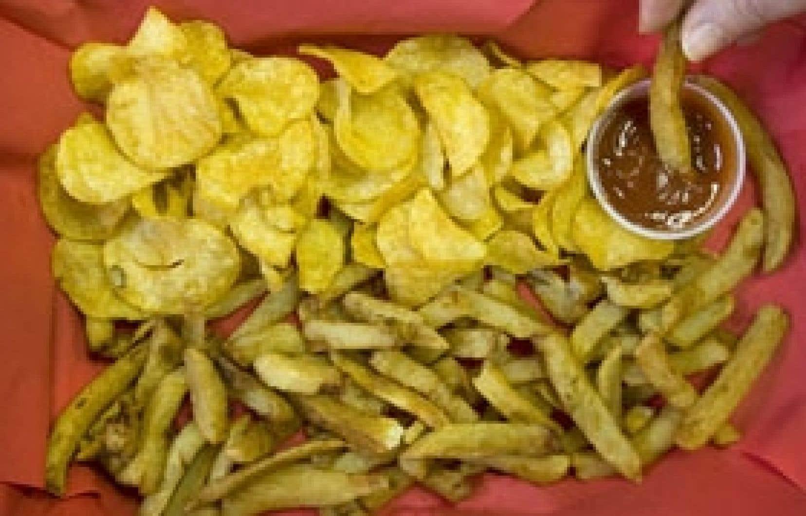 Friands des croustilles et des frites? Il vaudrait mieux limiter votre consommation puisque l'acrylamide qu'elles recèlent est susceptible d'occasionner le cancer.