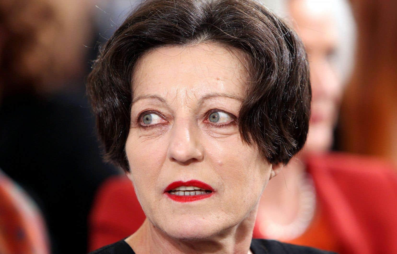 L'écrivaine germanophone de Roumanie Herta Müller