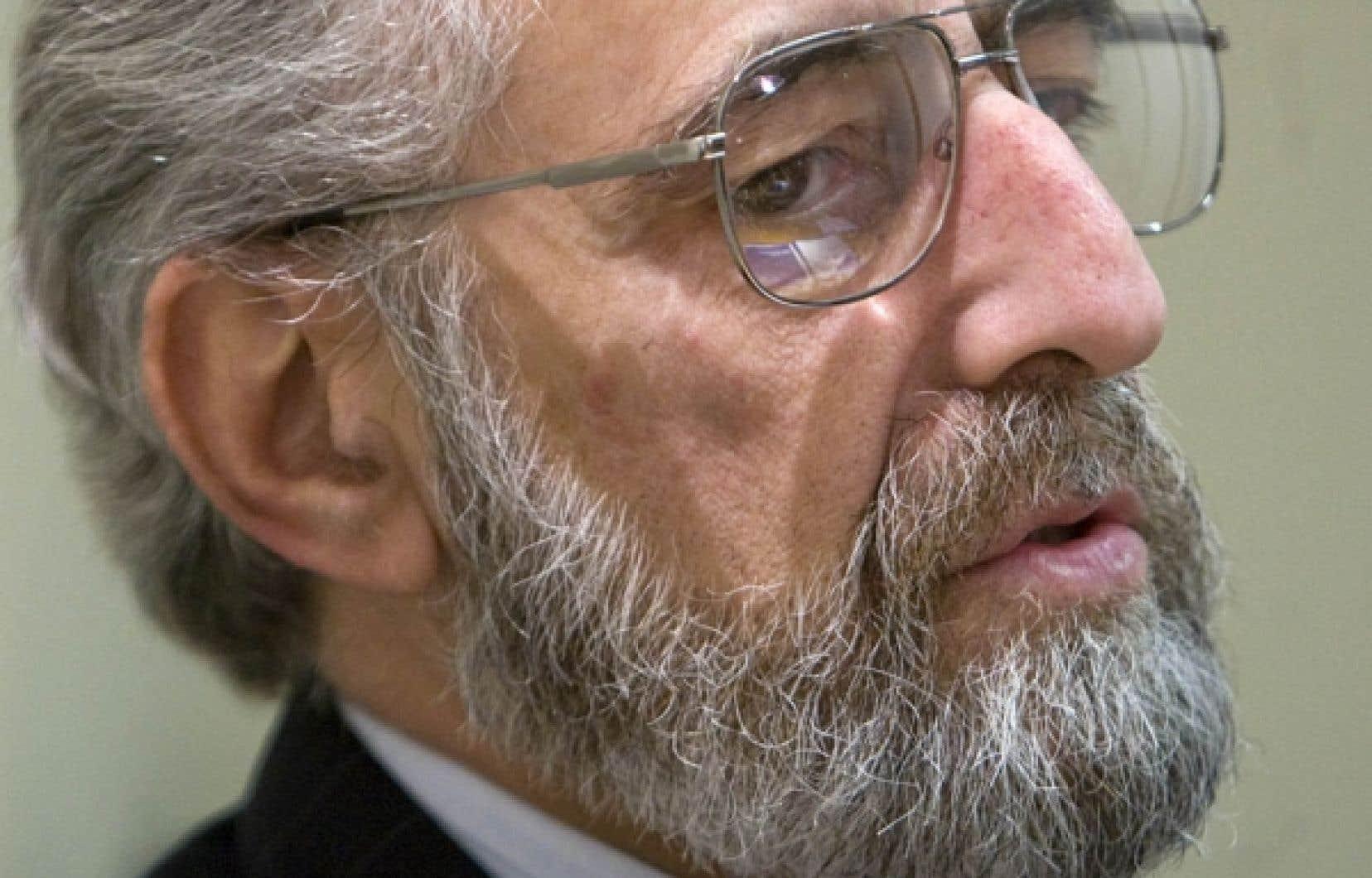 Claude Corbo, recteur de l'UQAM