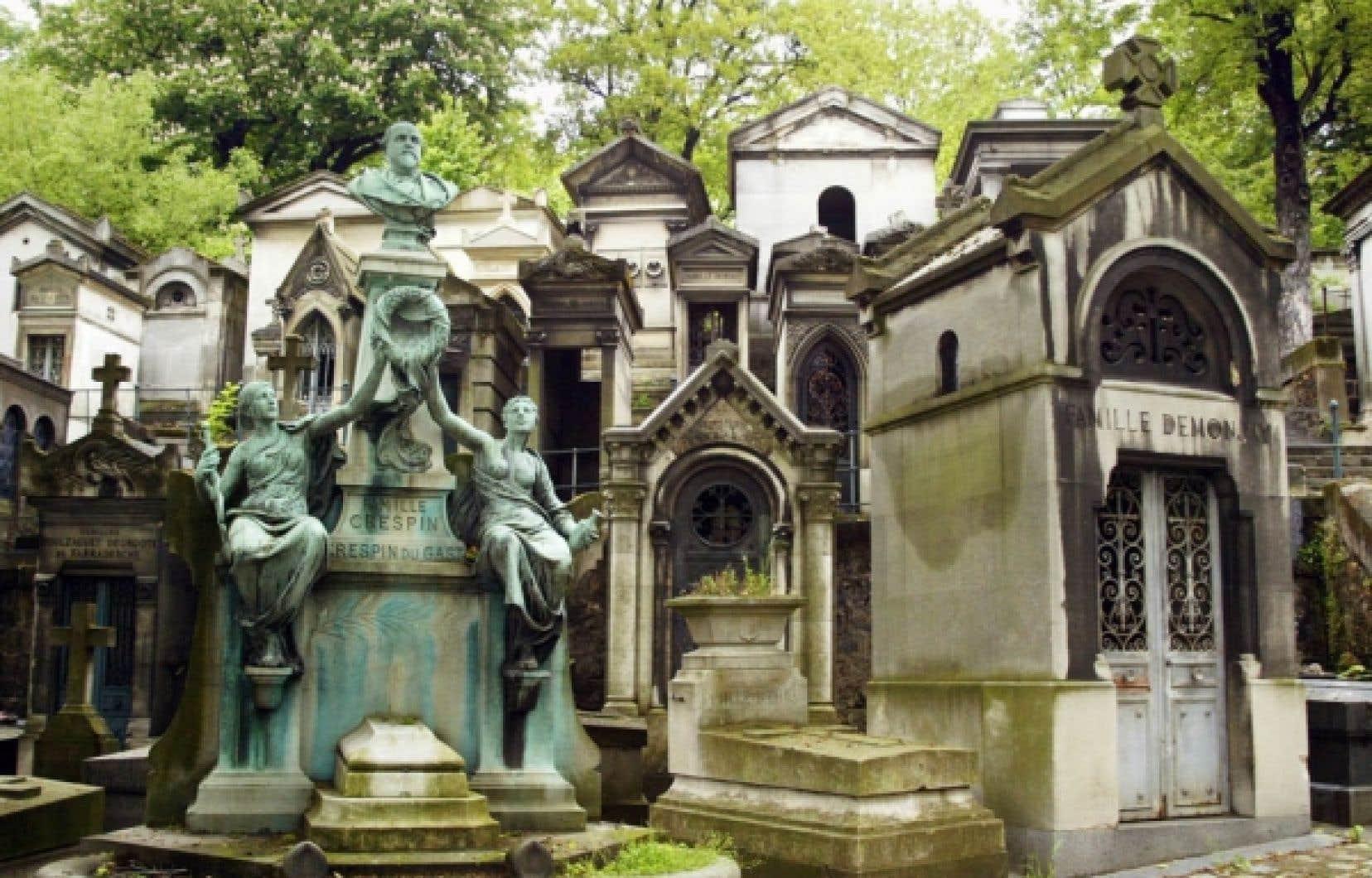 Le cimetière Père-Lachaise