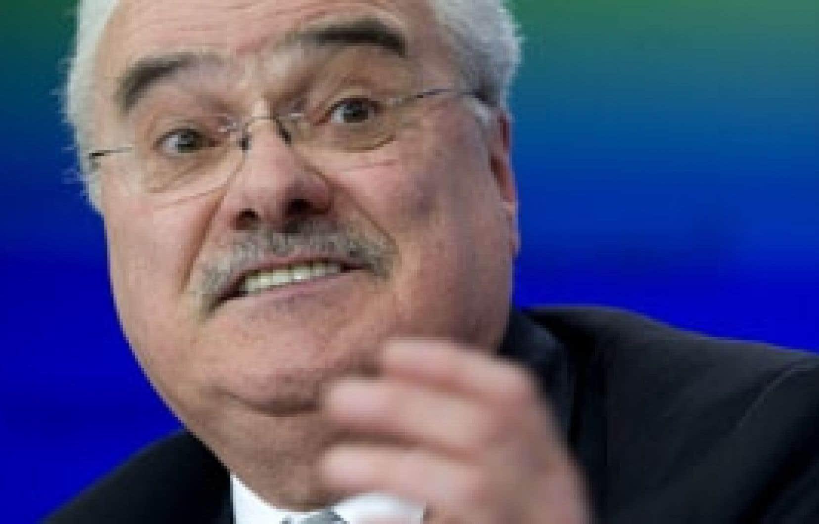 Fernand Perreault: «Le premier élément qui explique notre rendement cette année est la crise financière mondiale.»