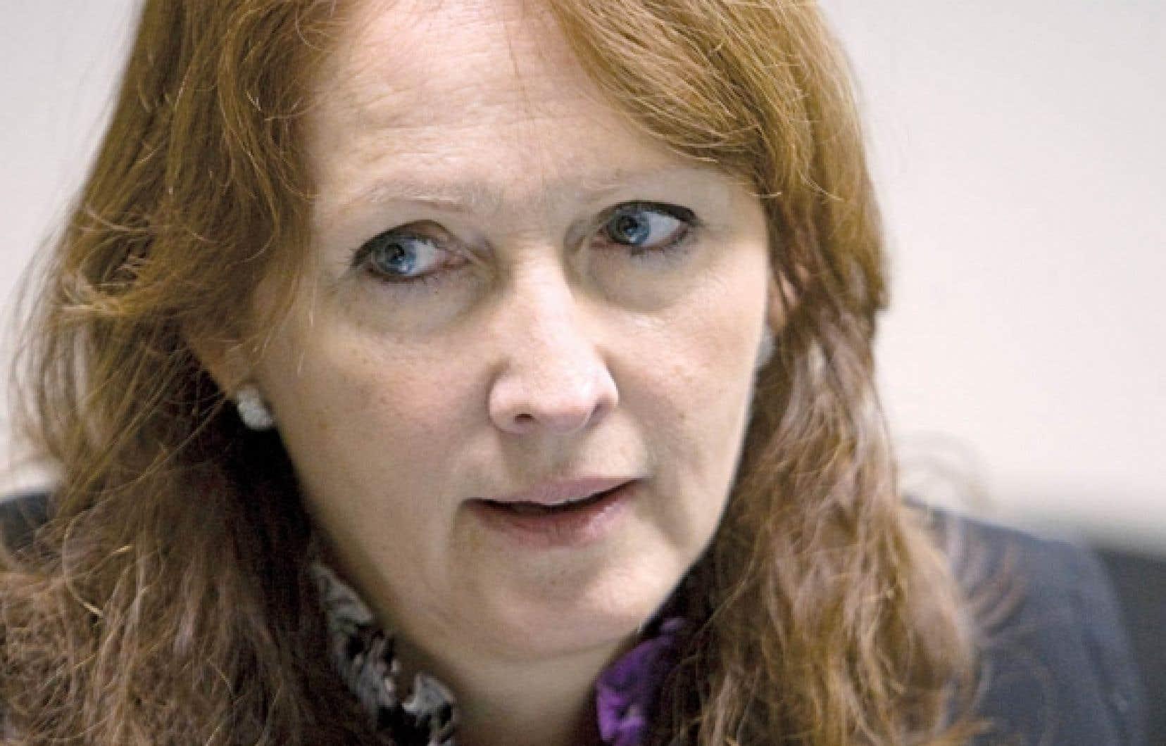 Nadine Droulans, chargée de mission pour l'Office de promotion du tourisme de la Belgique