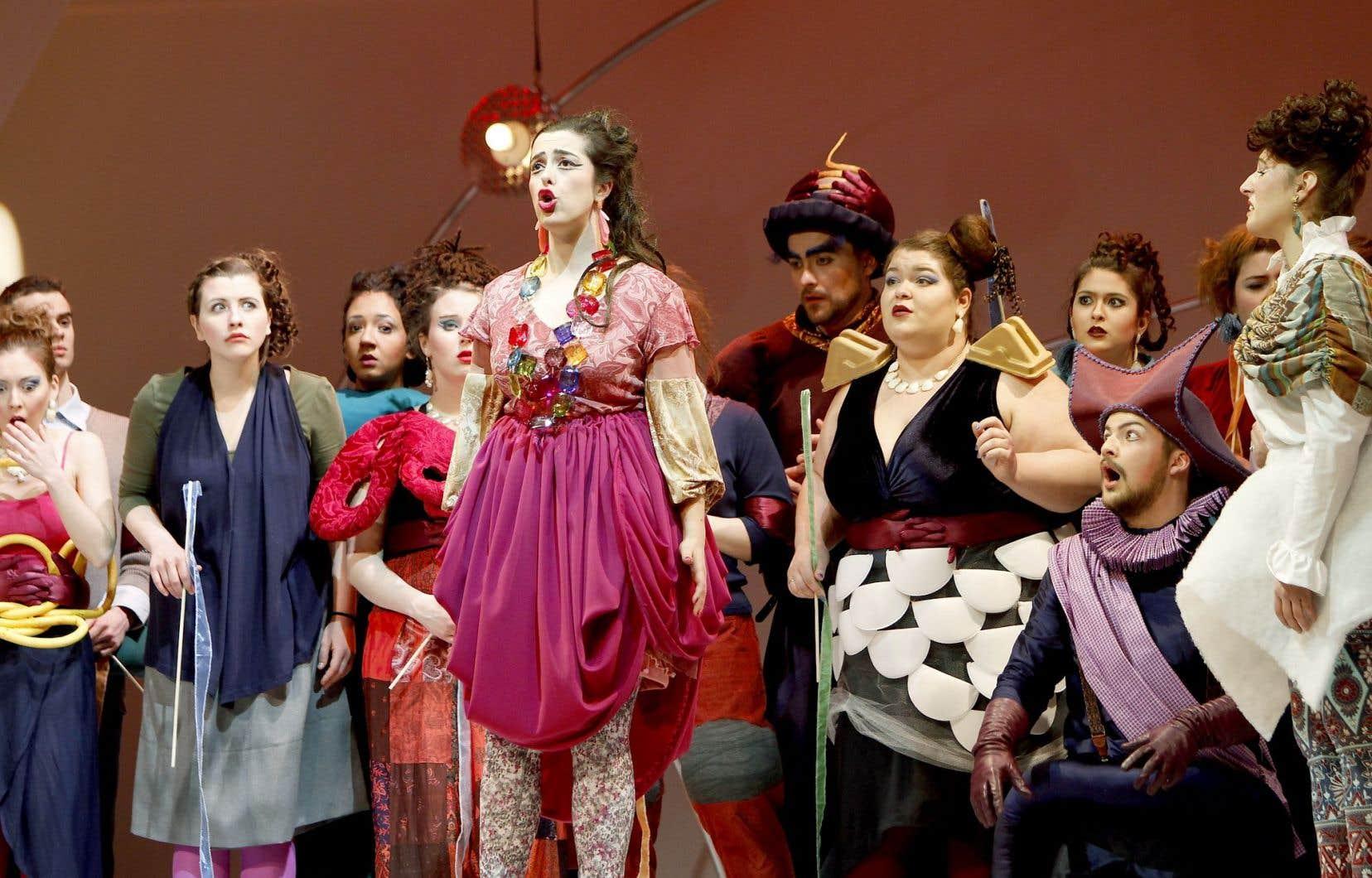 L'opéra L'étoile d'Emmanuel Chabrier présenté par l'Atelier d'opéra et l'Orchestre de l'Université de Montréal, en février 2015