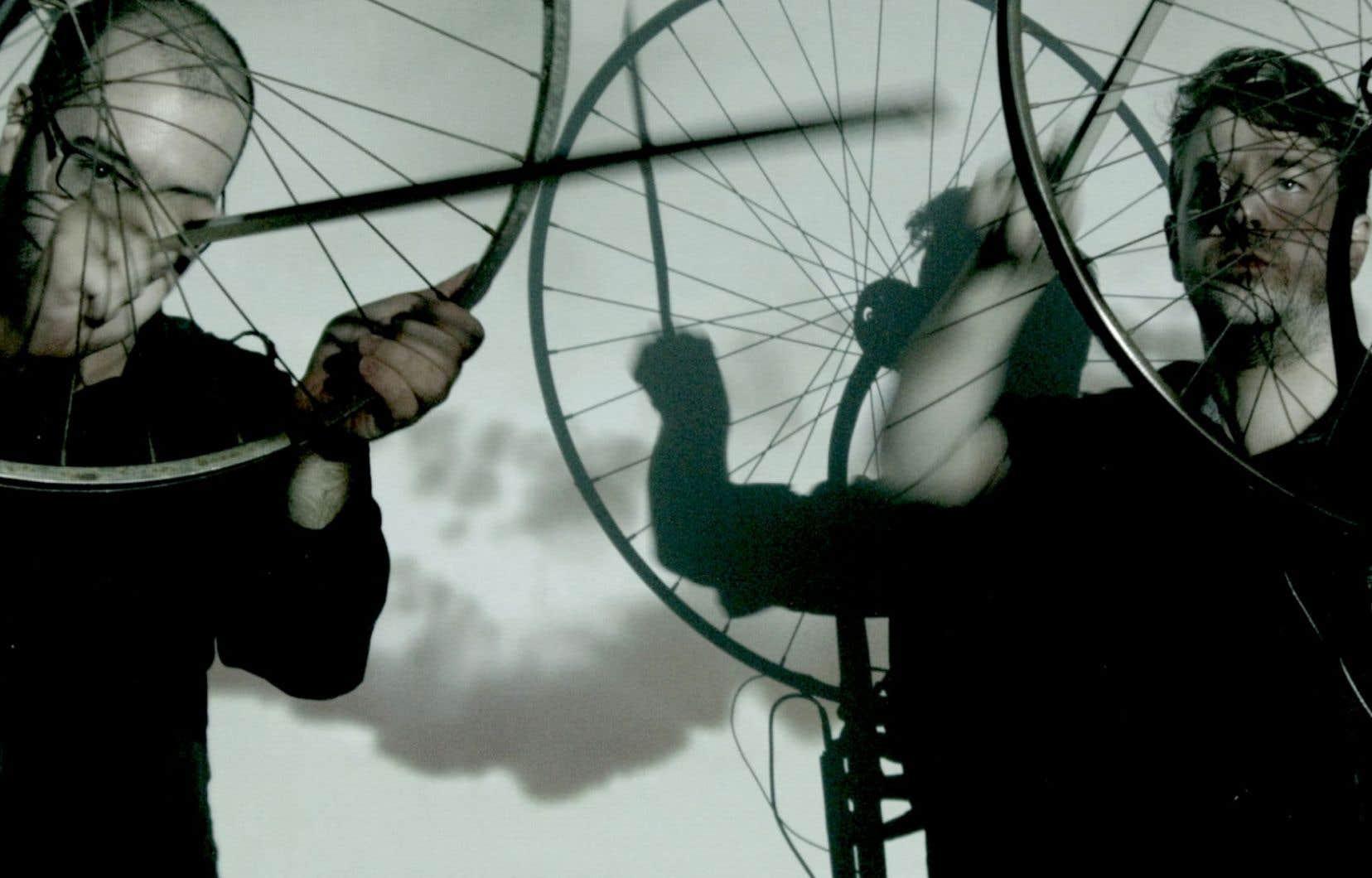 Le festival s'ouvrira avec «Cycle», un spectacle basé sur la manipulation de roues à vélo.
