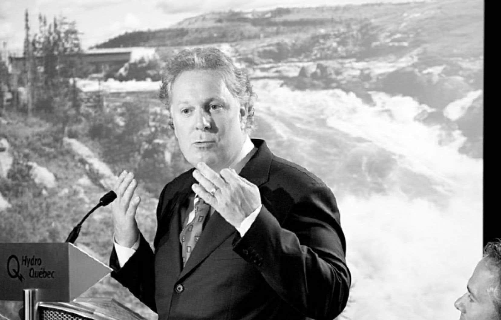 Janvier 2007: Jean Charest annonçait la construction de la centrale Eastmain et la dérivation de la rivière Rupert.