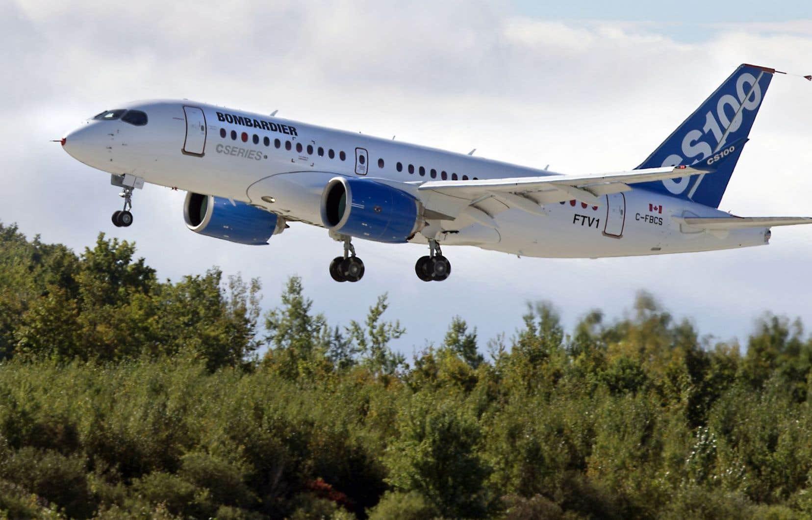 Bombardier aura consacré 5,4 milliards pour développer sa CSeries.
