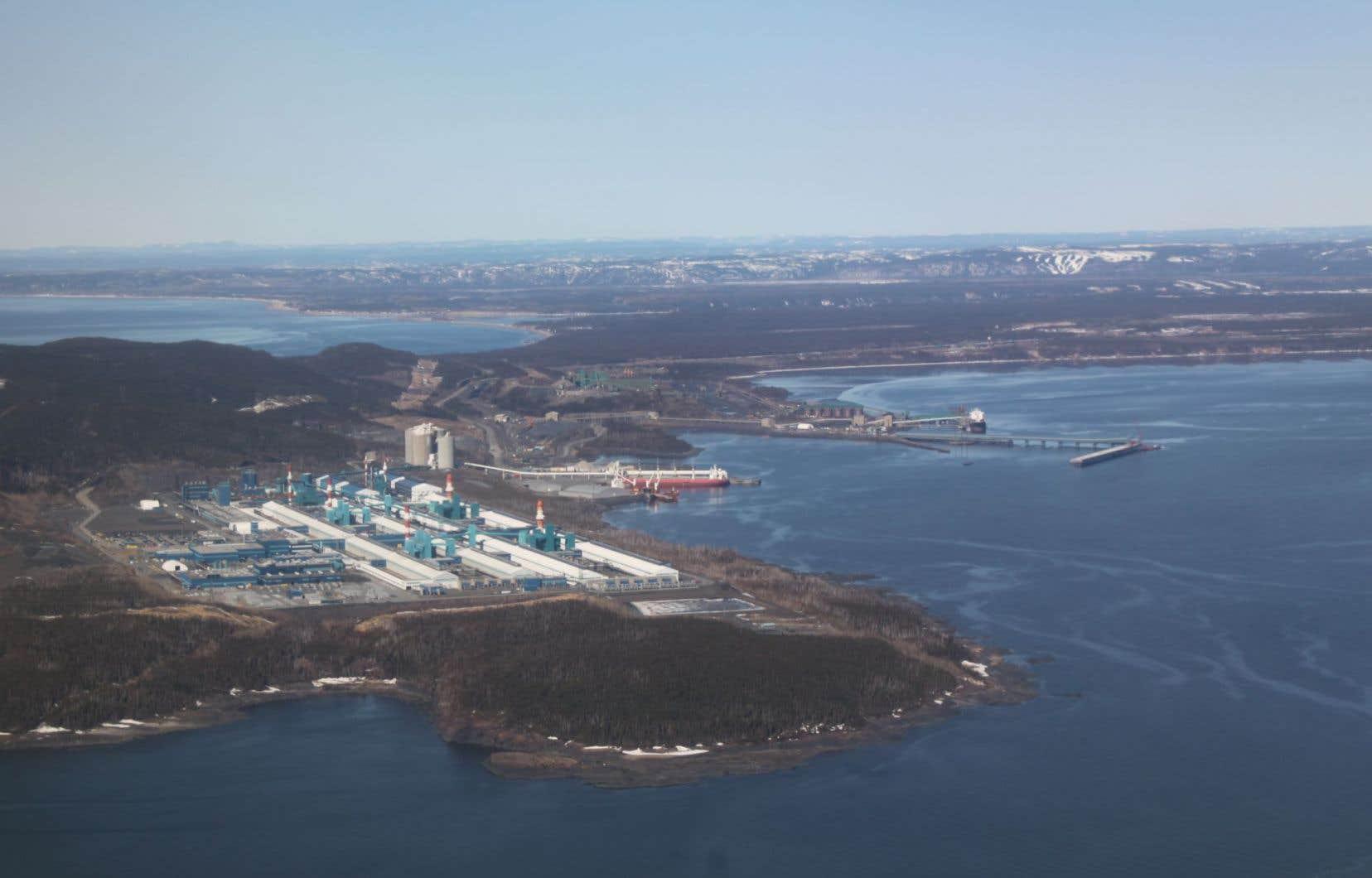Les installations dont Québec vient de se porter acquéreur sont situées dans le secteur de Pointe-Noire, à Sept-Îles.<br />