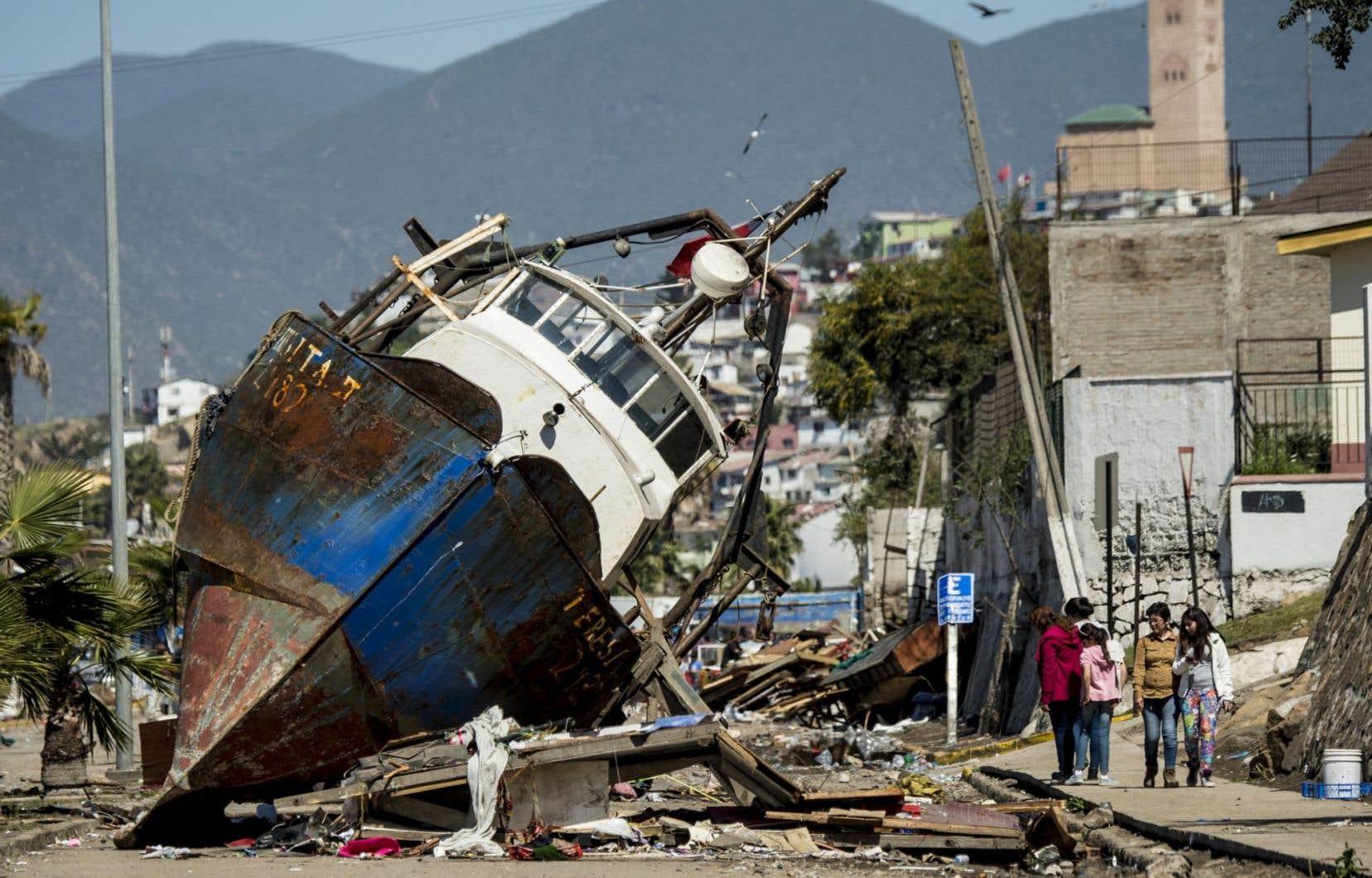Quelque 80 % des destructions survenues sur terre en 2014 étaient le fait de la nature.