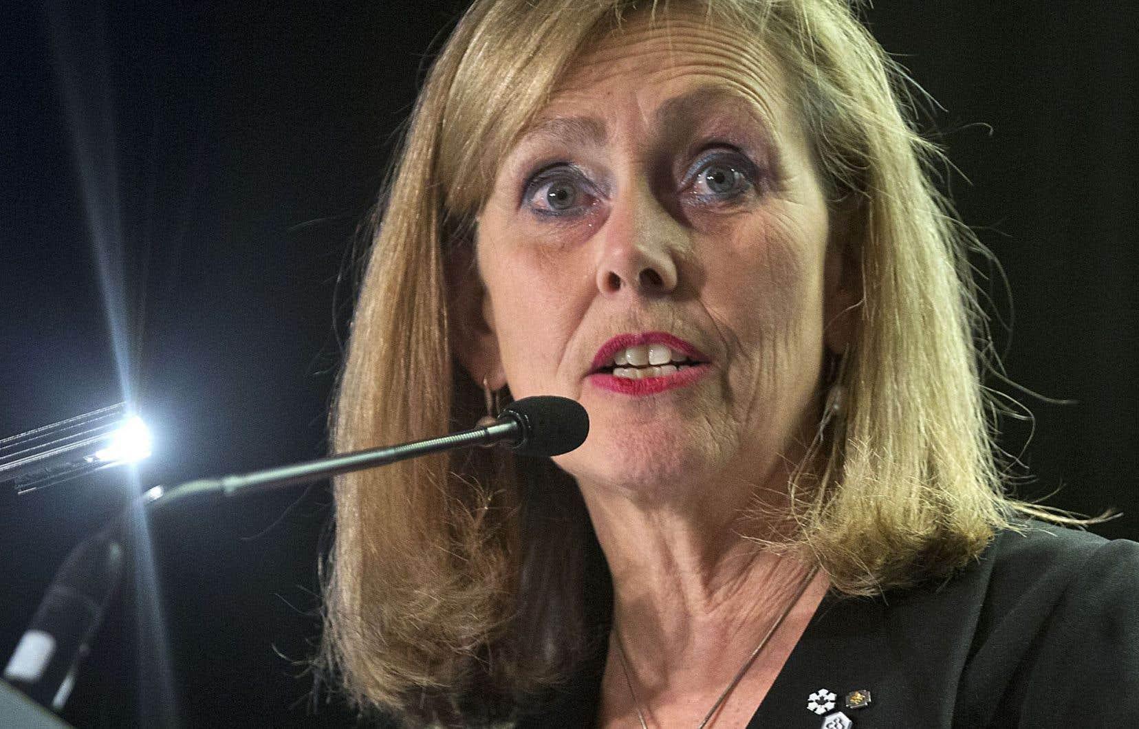 Monique Leroux: «Je suis très fière de laisser, pour la prochaine présidence, un groupe financier coopératif solide et en croissance.»