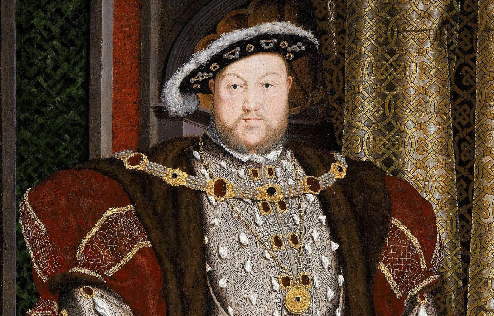 Portrait d'Henri VIII d'après Hans Holbein le Jeune, 1542