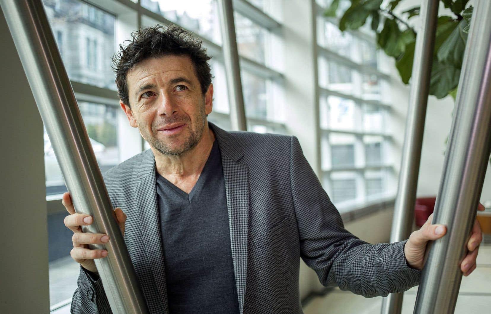 Patrick Bruel avoue qu'il aimerait être courtisé par des cinéastes québécois.