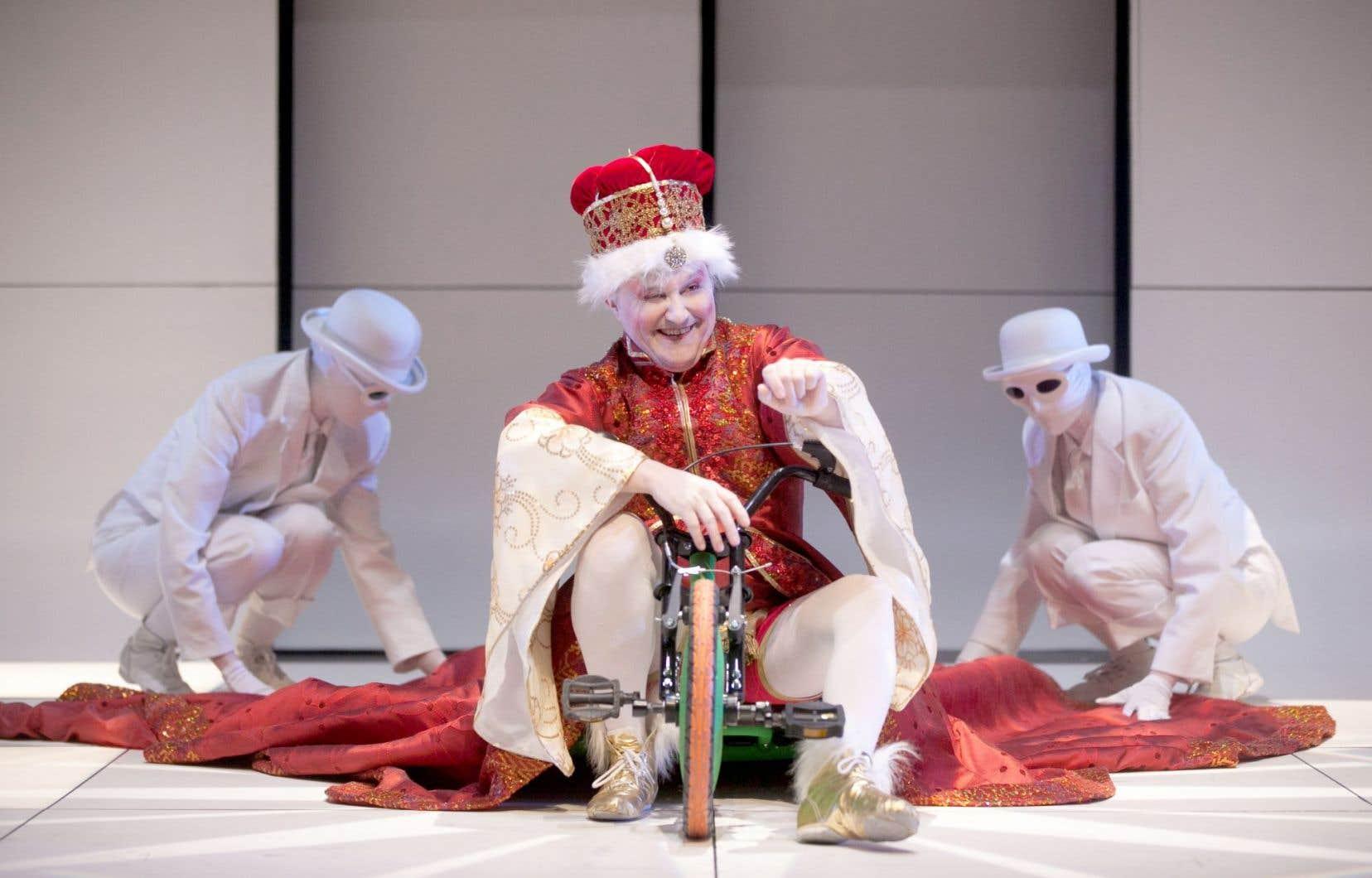 Représentation du «Bourgeois gentilhomme» de Molière au Théâtre du Trident à Québec, en 2014