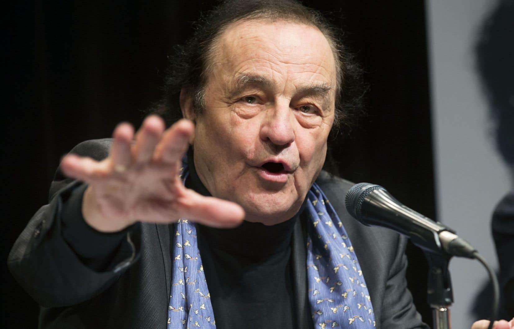 Charles Dutoit photographié l'an dernier alors qu'il était venu à Montréal annoncer son retour au pupitre de l'OSM pour un soir à la Maison symphonique.