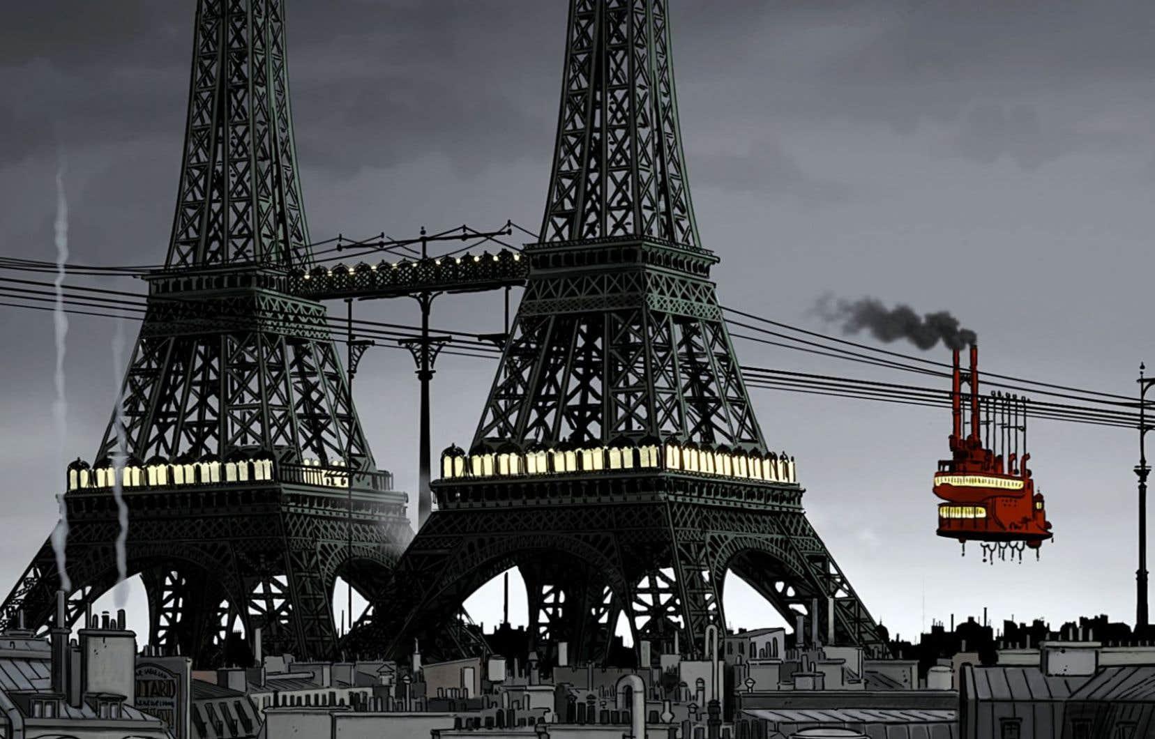 Un film qui est le triomphe de l'imagination sur l'Histoire, surtout celle de la France, drôlement remaniée.